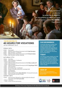40 Hours For Vocations